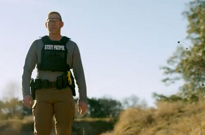 State patrol officer man