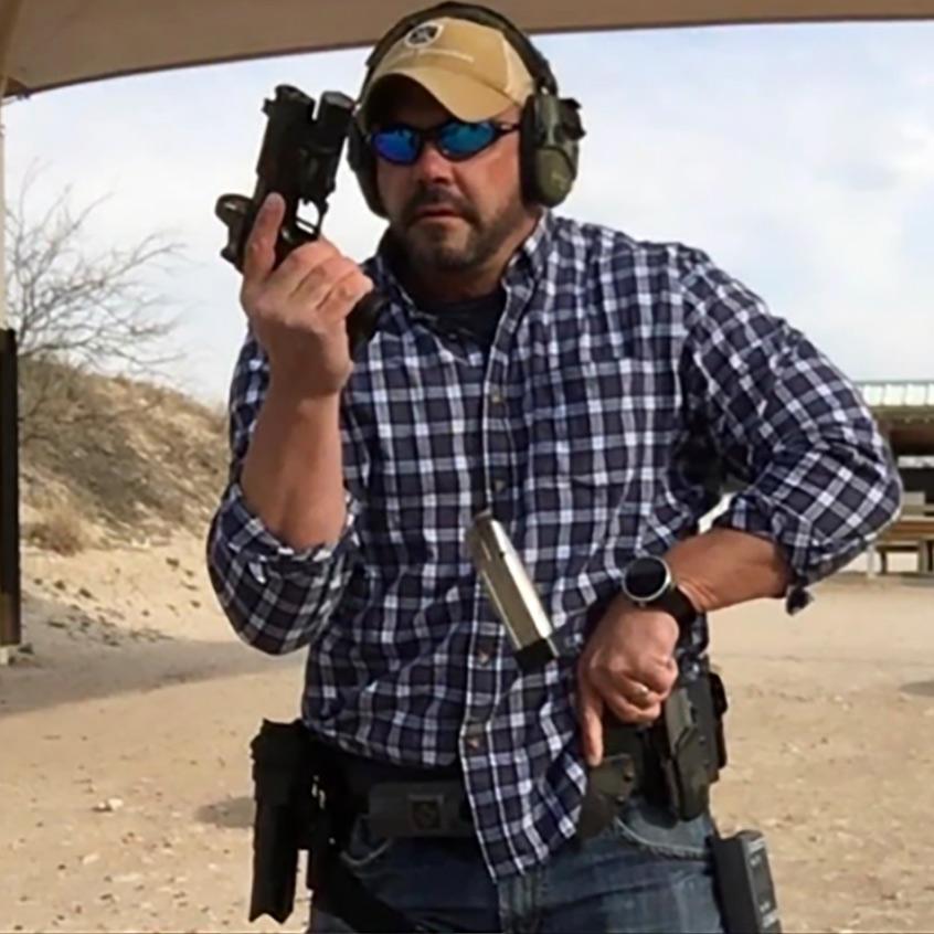 @threatcadre reloading Staccato handgun