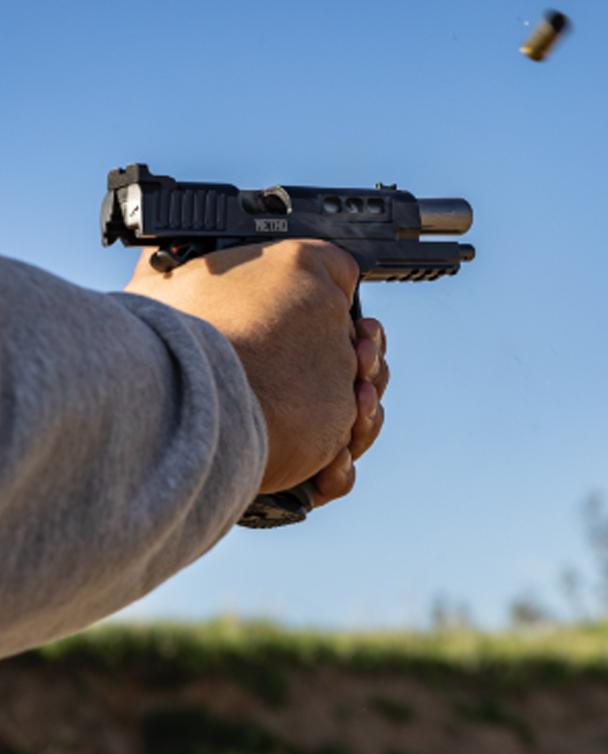 Individual firing Staccato Handgun