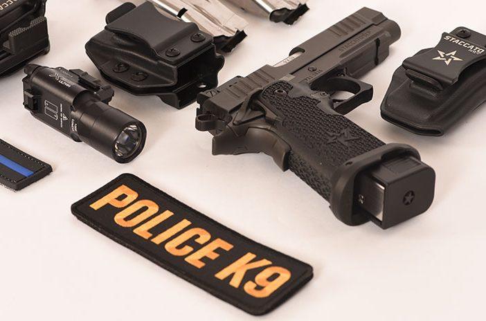 Staccato handgun pistol