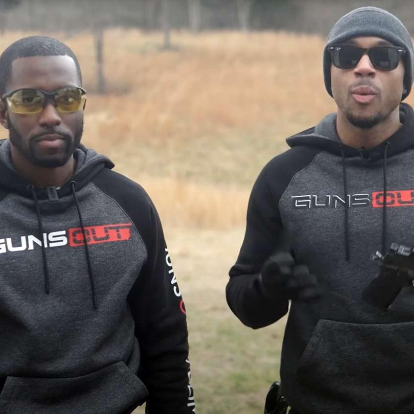 @Guns Out Tv reviewing a Staccato handgun