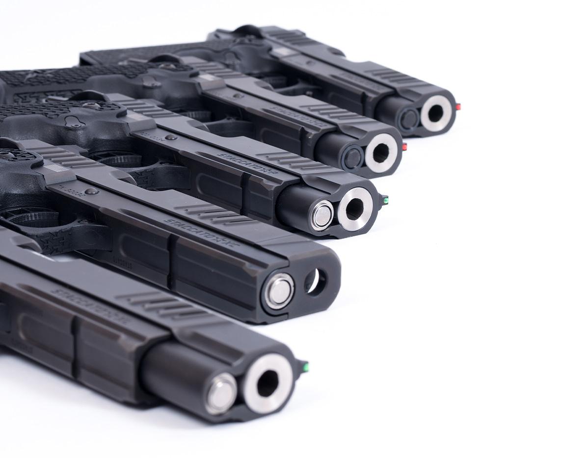 Staccato Handgun lineup