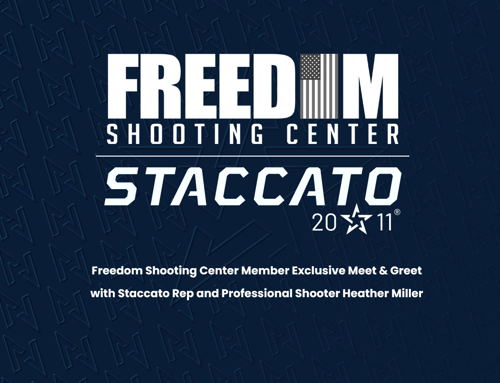 Freedom Shooting Center Event Card